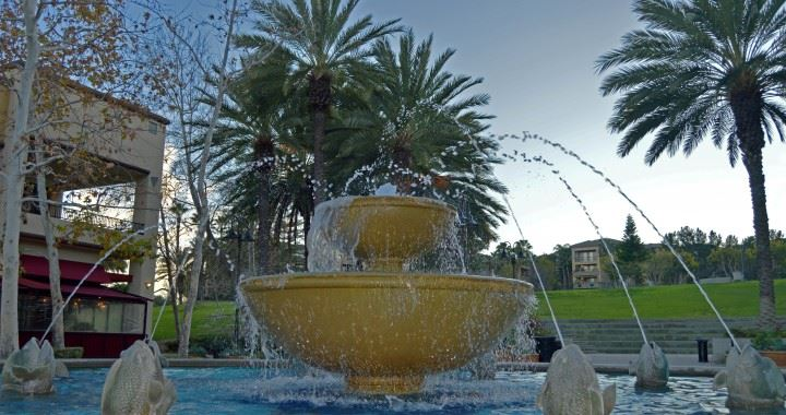 Water Fountain at Town Center