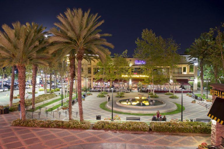 Town Center at Night